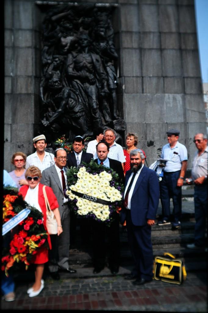 אנדרטת רפפורט, ורשה, 1989